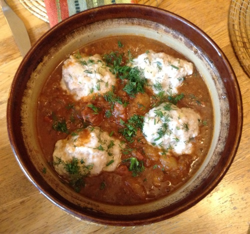 Hungarian goulash with bread dumplings 1 24 Nov 13