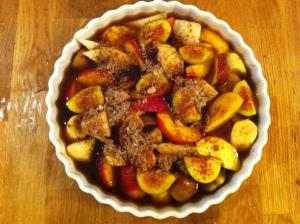 Jamaican hot fruit salad 2