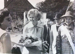 My mother, Kirby Hill Church fete