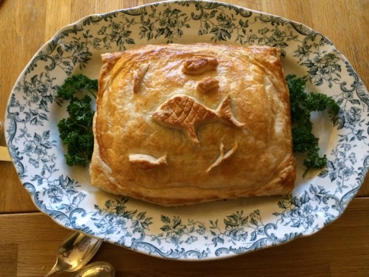 Salmon en croute 1 Jan 2014