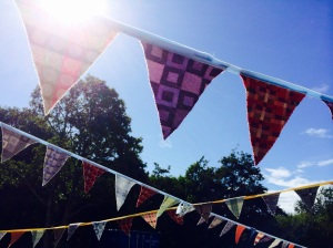Welsh tapestry bunting